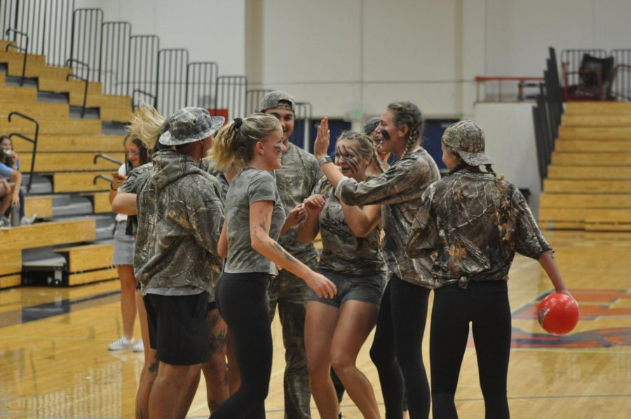 Reno Street Week ended with Booth Street Day, including the assembly, float building, parade and the crowning of Homecoming Queen and King, seniors Helena Rowe and Skylar Hales. Camo finished the tournament strong, beating the cheetah team 2-0.