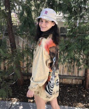 Freshmen Isabelle Clark was the winner of the virtual spirit week.