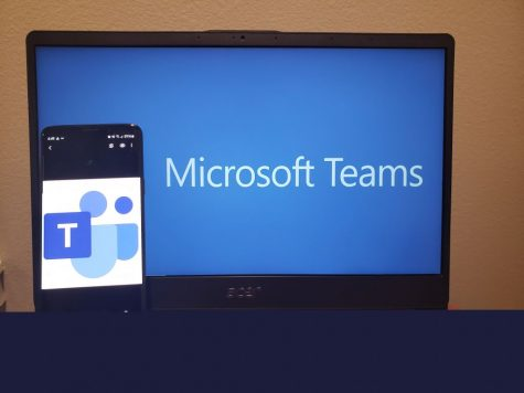 Photographer: Taylor Moore Students use Microsoft Teams and Microsoft OneNote to access their assignments.